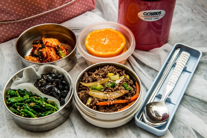 Lunch Dishes Side Dish Lunch Box Korean